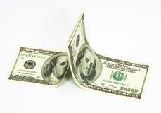 доллар 100 кредитки Стоковое Фото