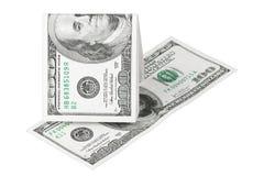 доллар 100 кредиток Стоковые Изображения RF