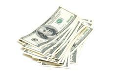 доллар 100 кредиток Стоковое фото RF