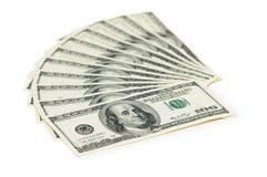 доллар 100 кредиток Стоковые Изображения