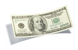 доллар 100 одно счета Стоковые Фото