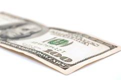 доллар 100 одно 100 счетов Стоковые Фото