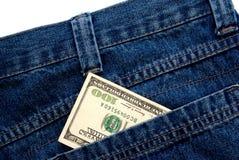 доллар 100 одно стоковое изображение rf