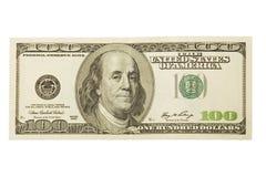 доллар 100 одно Стоковое Фото