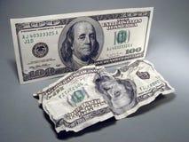 доллар 100 одно Стоковые Фото