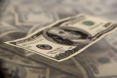 доллар 100 счета Стоковые Изображения RF