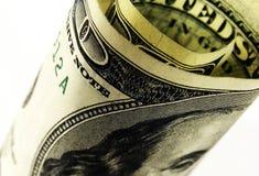 доллар 100 счетов Стоковое Изображение