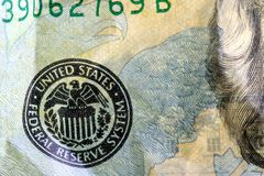 доллар 20 валюты счета мы Стоковое Фото