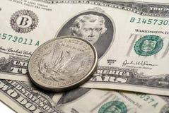 доллар 5 стоковые изображения rf