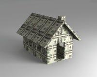 доллар house toy Стоковая Фотография RF