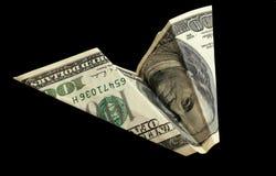 доллар plane6 стоковая фотография rf