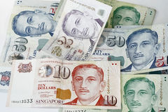 доллар singapore Стоковое Изображение RF