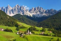 Доломиты в северном Италии стоковая фотография