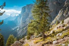 Доломиты Италия Mountain View Стоковая Фотография RF