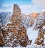 Доломиты Италия Sella Ronda гор Стоковое Изображение RF