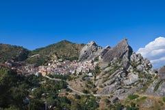 доломиты castelmezzano basilicata lucanian Стоковое Изображение RF