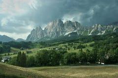 доломиты cortina d anpezzo итальянские Стоковое фото RF