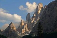 Доломит, Италия стоковые фото