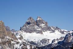 доломит alps Стоковые Фотографии RF