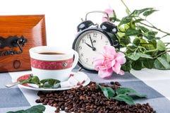 Домашнее время перерыва на чашку кофе Стоковое Изображение RF
