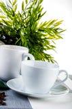 Домашнее время перерыва на чашку кофе Стоковые Изображения