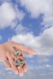 домашнее ключевое кольцо Стоковые Изображения RF
