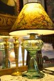 Домашнее оформление - античная лампа Стоковые Изображения RF