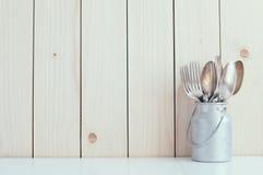 Домашнее оформление кухни Стоковые Изображения RF