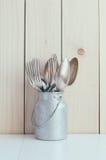 Домашнее оформление кухни Стоковая Фотография