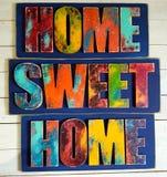 Домашнее сладостное домашнее украшение Стоковые Изображения