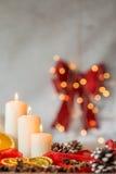 Домашнее украшение для рождества Стоковая Фотография