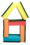 домашние губки Стоковое фото RF
