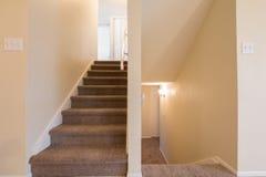 Домашние лестницы Стоковое Изображение
