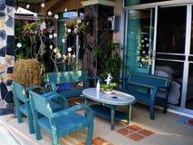 Домашние идеи украшения сада стоковое изображение rf