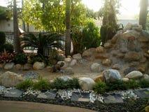 Домашние идеи украшения сада Стоковое Фото