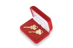 домашние ключи новые к вашему Стоковое фото RF