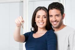 домашние ключи новые стоковое фото rf