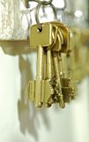 домашние ключи Стоковая Фотография