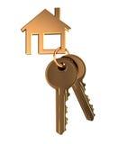домашние ключи Стоковое Фото
