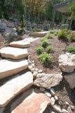 домашние лестницы ландшафта Стоковые Изображения RF