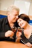 домашние пар счастливые зреют Стоковое Фото