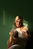 домашние сексуальные женщины Стоковые Фото