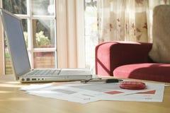 Домашние финансы и учет Стоковые Изображения