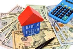 Домашние финансы США стоковое изображение