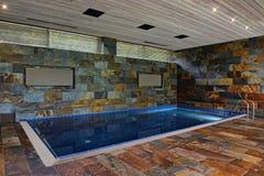 Домашний бассейн Стоковые Изображения RF