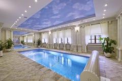 Домашний бассейн Стоковая Фотография RF