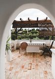 Домашний дизайн интерьера в Португалии Portimao стоковая фотография rf