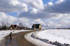 домашний длинний путь Стоковая Фотография RF