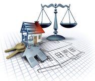 Домашний закон конструкции иллюстрация вектора