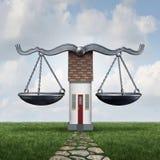 Домашний закон иллюстрация вектора